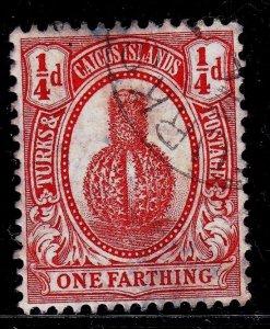 Turks and Caicos - #24 - 1911 - FU - CV$0.50