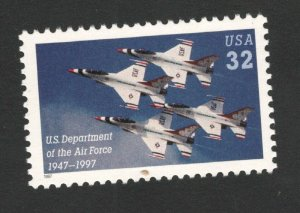 3167 Air Force Single Mint/nh (Free Shipping)