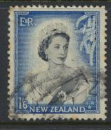 New Zealand SG 733 SC# 298 Used  see details 1953 QE II  Definitive Issue