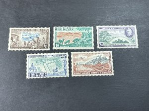 SOUTHERN RHODESIA # 74-78-MINT/HINGED---COMPLETE SET---1953