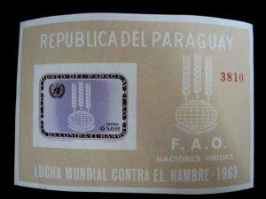 PARAGUAY - SCOTT# 766a - MNH - SOUVENIR SHEET - CAT VAL $17.00