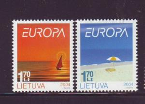 Lithuania Sc 766-7 2004 Europa stamp  set mint NH