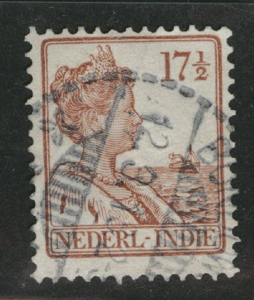 Netherlands Indies  Scott 121 Used 1915 stamp