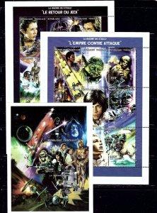 Togo 1849-51 MNH 1997 Star Wars sheets    (ap2044)