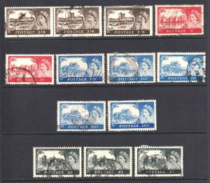 GREAT BRITAIN SC 309-312 SOUND COLLECTION LOT $180 SCV