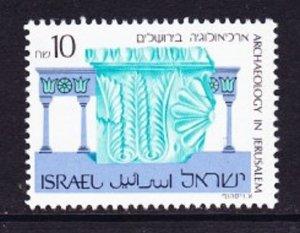 Israel #1020 Archaeology MNH Single