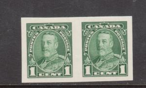 Canada #217c Extra Fine Never Hinged Imperf Pair