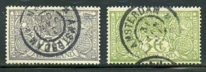 NETHERLANDS SCOTT# B2-3 FINELY USED AS SHOWN CATALOGUE VALUE $41
