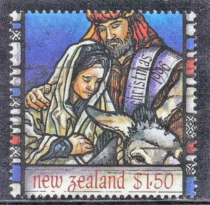 NEW ZEALAND SC# 1389  USED* $1.50   1996   CHRISTMAS   SEE SCAN
