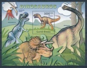 Guinea-Bissau MNH S/S Dinosaurs 2011
