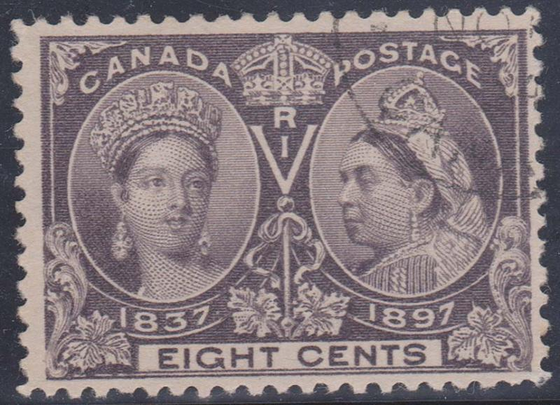 Canada - 1897 8c QV Jubilee Used #56