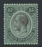 Straits Settlements George V  SG 208 Mint Hinged  white back