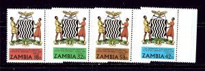 Zambia 224-27 MNH 1980 set