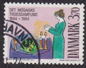 Denmark # 766, Jewish Community 300th Anniversary , Used, 1/2 Cat.