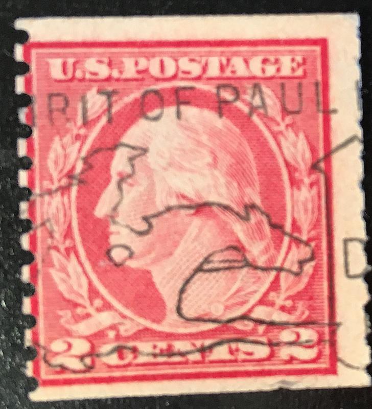 444 Washington Series, Circ. Coil, SL, Perf. 10, fine, NH, Vic's Stamp Stash