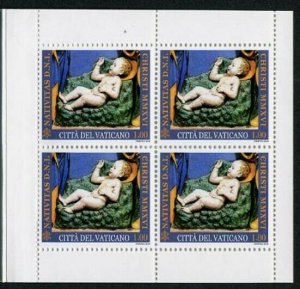 HERRICKSTAMP NEW ISSUES VATICAN CITY Sc.# 1640a Christmas 2016 Booklet