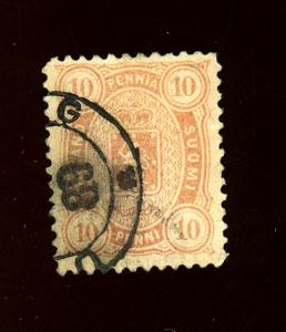 Finland #27 Used F-VF Cat $18