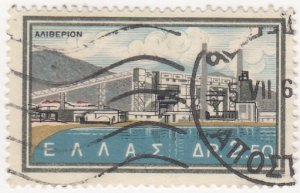 Greece, Sc 732 (2), Used, 1962, National Electrification