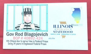 AFDCS 5274 Illinois Statehood Governor Rod Blagojevich 14 years Prison