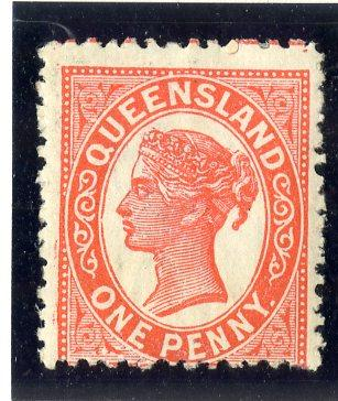 QUEENSLAND 104 MH SCV $4.00 BIN $1.75 ROYALTY
