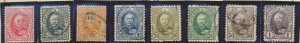 Luxembourg Stamps Scott #60 To 67, Used, Short Set - Free U.S. Shipping, Free...