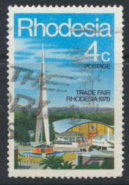 Rhodesia SG 553  SC# 391   Used Trade Fair  see details