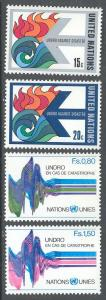 United Nations/New York 308-309, Geneva 82-83 MNH - Disaster Relief