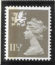 Great Britain-Wales & Monmouthshire # WMMH16  (MNH) $0.85