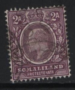 SOMALILAND, 29, USED, 1904, KING EDWARD VII