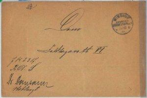 69992 - GERMAN COLONIES: SWA Namibia - POSTAL HISTORY: COVER  Windhuk  1906 KUB