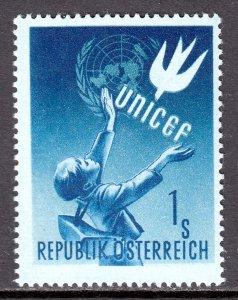 Austria - Scott #559 - MH - SCV $13.50