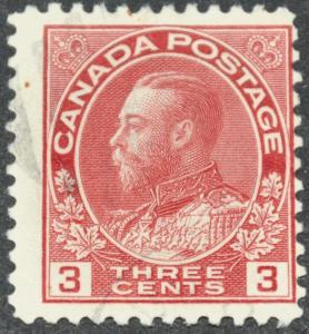 DYNAMITE Stamps: Canada Scott #109 - USED