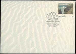 Australia, Worldwide First Day Cover, Postal Stationery