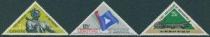 Lesotho 1967 SG141-143 Independence set MLH