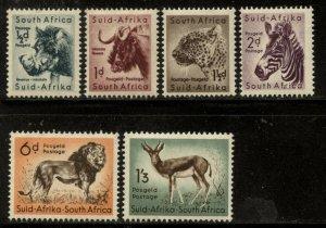 South Africa 1954 Animals Definitive set Sc# 200-13 mint