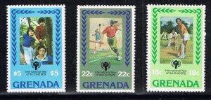 UK GRENADA STAMP 1979 Year of the Child MNH SET CHILDREN SIGNED  - RARE -
