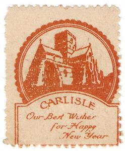 (I.B-CK) Cinderella Collection : War Memorial Fund ½d (Carlisle)