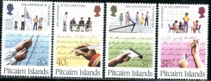 PITCAIRN IS. Sc#315-318 1988 Constitution Anniversary Complete Set Mint OG NH