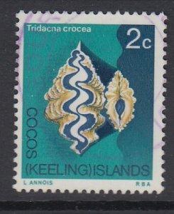 COCOS ISLANDS, Scott 9, used