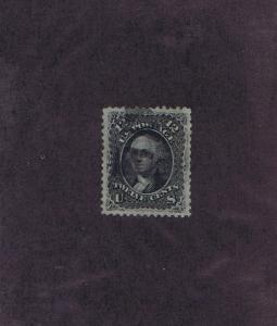 SC# 90 USED 12c WASHINGTON, 1868, CORK CCL, PSAG CERT, GRADED XF SUP 95!
