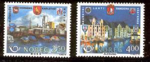 NORWAY 894-895 MNH NORDIC COOPERATION 1986