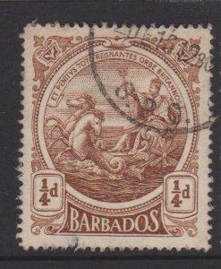 Barbados Sc#127 Used