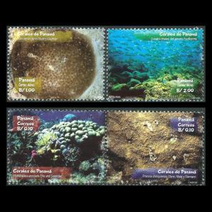 Panama 902-904, MNH, 2002 Corals. x26683