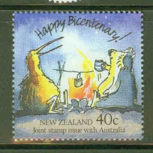 New Zealand Scott 907 MH* Cartoon Characters