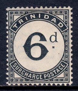 Trinidad - Scott #J15 - MH - Light crease - SCV $7.25