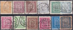 Portugal #67-78  F-VF Used CV $223.25