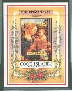 Cook Islands 1991 Scott 1054 Christmas MNH