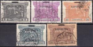 Portugal #193-7 F-VF Used   CV $114.00
