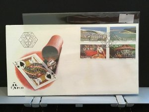Transkei The Wild Coast Holiday Complex Mzamba stamps cover R29012