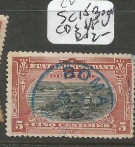 Belgian Congo SC 15 Boma CDS VFU (8cih)